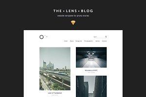 Minimal Blog / Portfolio Template