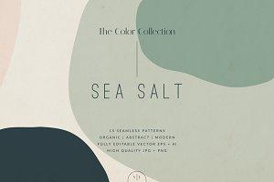 Sea Salt | Seamless Patterns Set