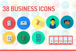 38 Business Icons
