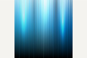 Blue Neon abstract lines background