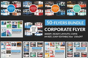 (50)Corporate Flyers Bundle