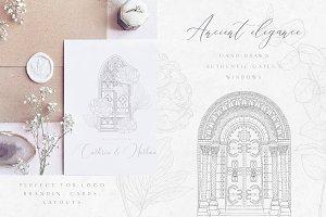 Ancient Elegance~gates and windows