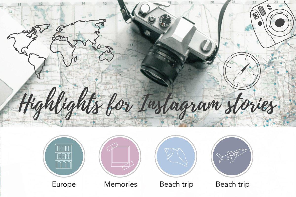 Travel Instagram Stories Highlights