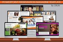 Powerpoint Magazine Template