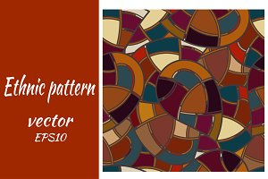 Seamless pattern with geometric