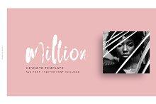 Million Keynote Template by  in Presentations
