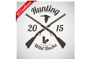 10 Hunting Emblems