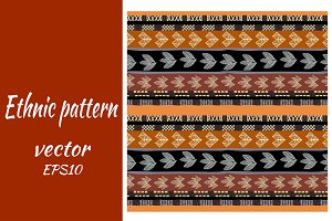Vector pattern with crossed lines