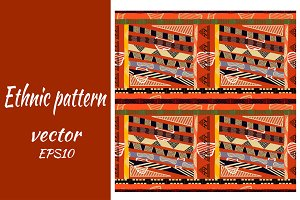 Vector pattern with square elements