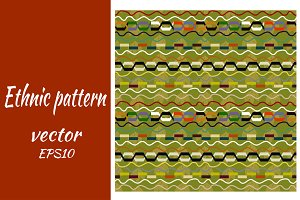 Seamless vector African pattern