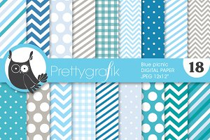 chevron mix patterns digital paper