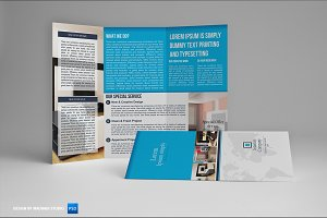 Interior Trifold Brochure Vol01