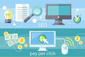 SEO, Graphic Design, Pay Per Click