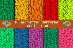 10 isometric patterns