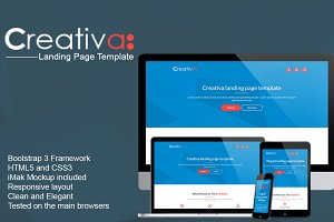 Creativa - Multipurpose Landing Page