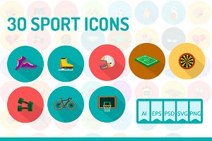 30 Sport Icons