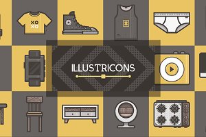 Illustricons: 500+ Vector Icons