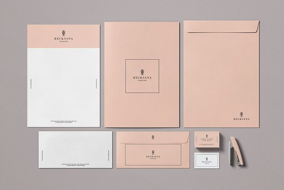 Minimal Stationery Mockup Creator in Branding Mockups - product preview 2