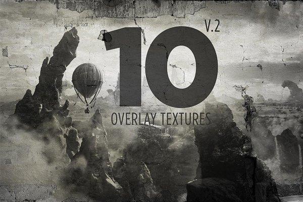 10 Overlay Textures Mock-up V.2