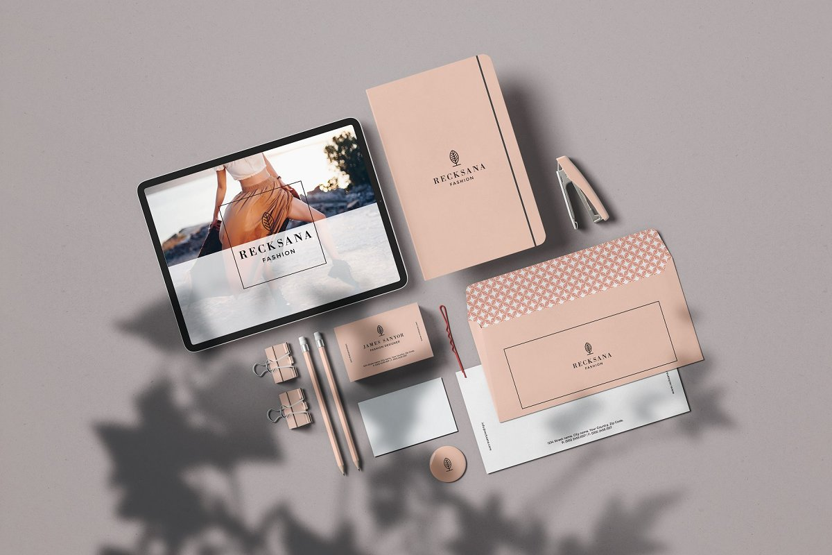 Minimal Stationery Mockup Creator in Branding Mockups - product preview 4