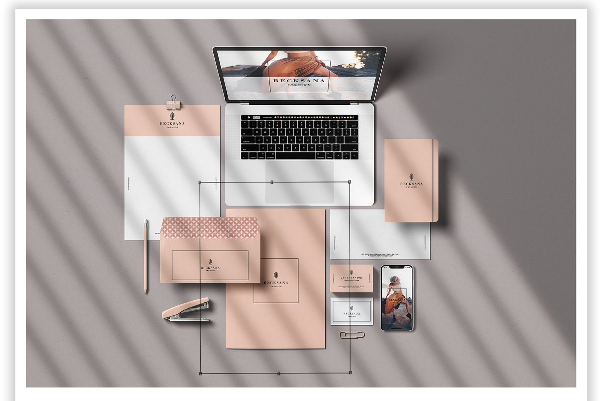 Minimal Stationery Mockup Creator in Branding Mockups - product preview 5