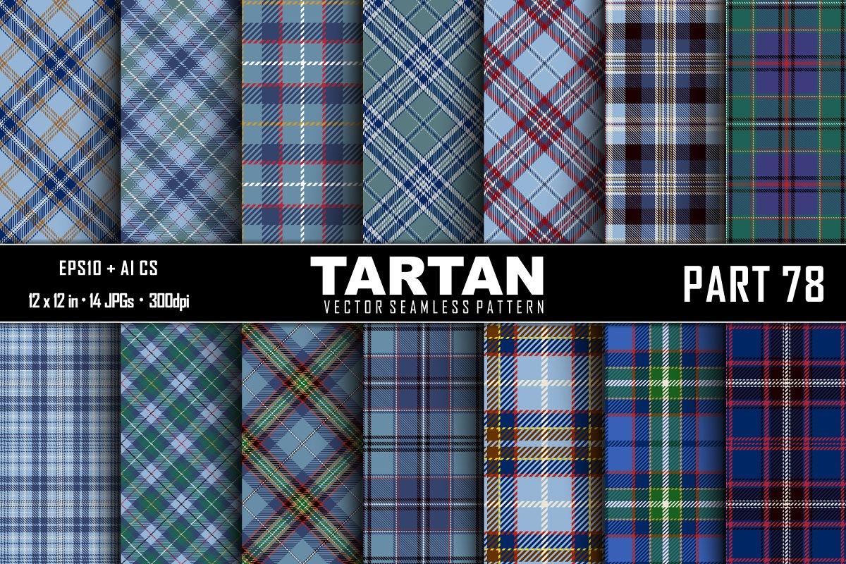 Seamless Tartan Pattern. Part–78 in Patterns