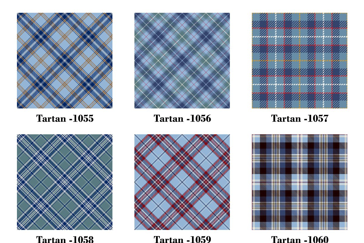 Seamless Tartan Pattern. Part–78 in Patterns - product preview 1