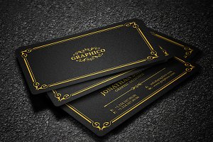 Elegant Vintage Business Card - 37