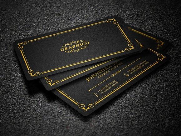Elegant vintage business card 37 business card templates elegant vintage business card 37 business card templates creative market colourmoves