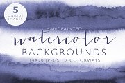 Watercolor Backgrounds Collection