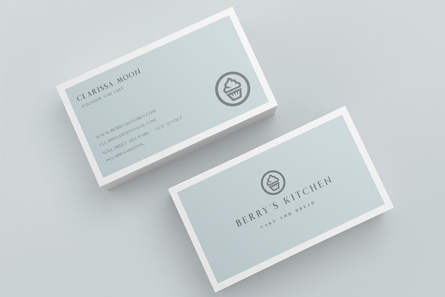 Business Card Berry S Kitchen Creative Business Card Templates