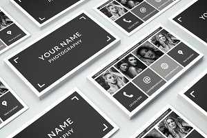Business Card Template 015 Photoshop