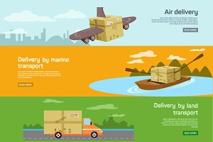Maritime, air, transport delivery