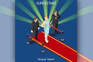 Hollywood Red Carpet Superstars