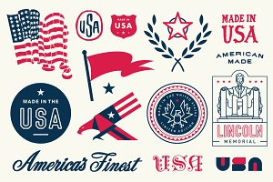 USA Vector Pack