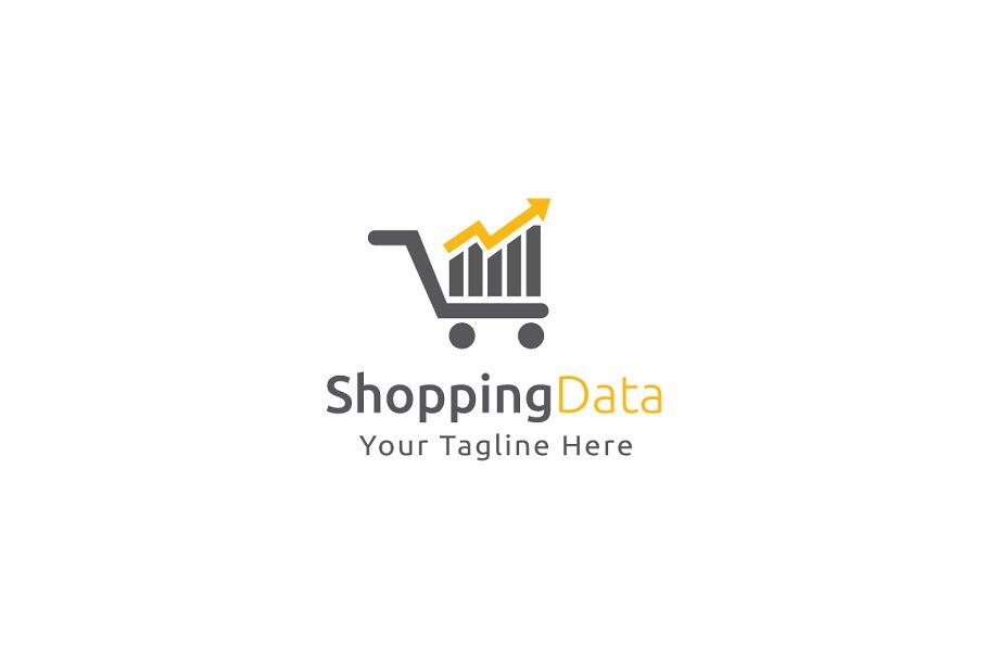 Shopping Data Logo Template