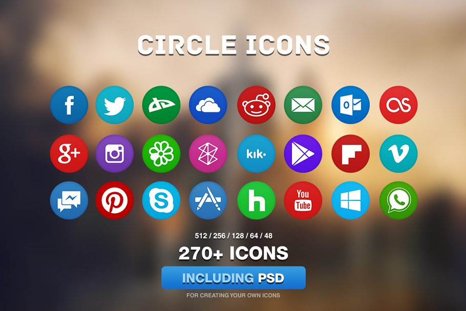 Circle Icons Full Pack