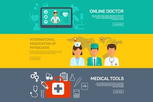 Online medical diagnosis, treatment