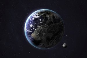 Solar system planet - Earth