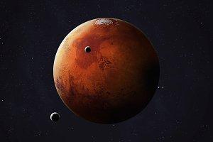 Solar system planet - Mars