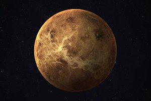 Solar system planet - Venus