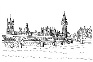 Westminster Bridge illustration