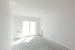 Empty new apartment room
