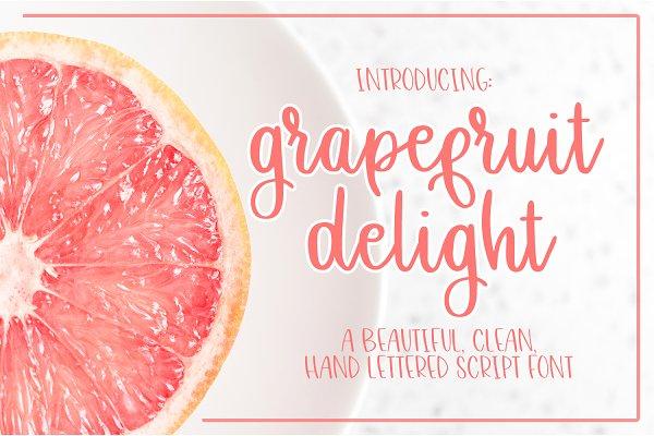 Grapefruit Delight - Script