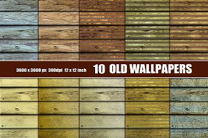 Old Wallpaper  texture background
