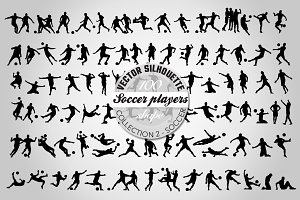 100 quality Soccer vector