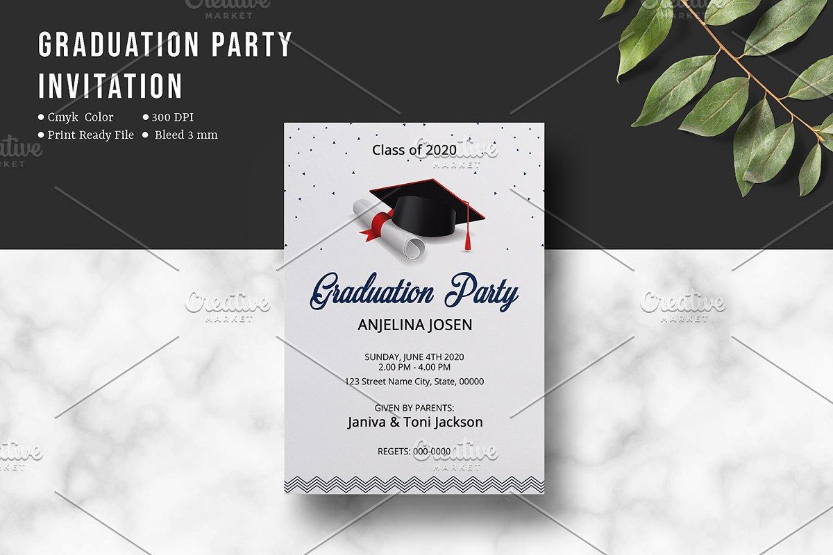 Graduation Party Invitation - V02