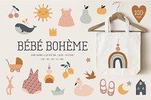 Bebe Boheme collection by  in Logos