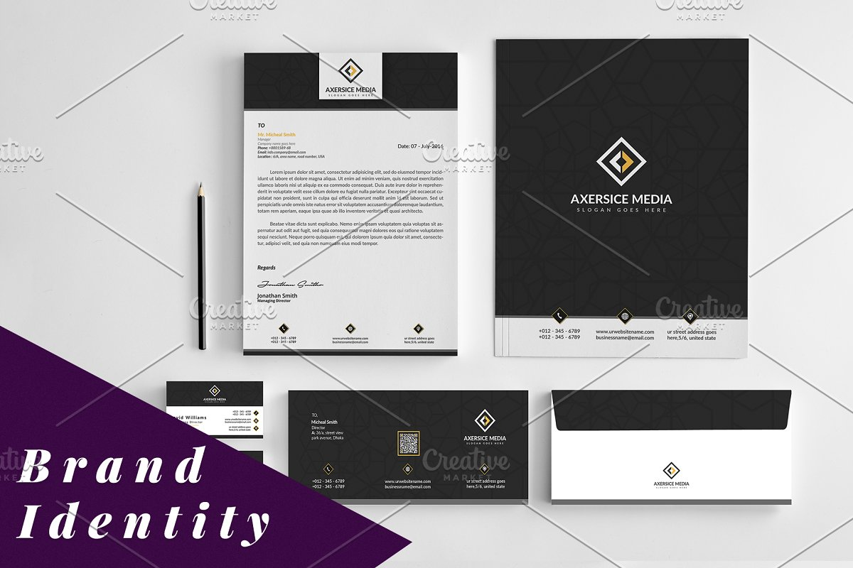 Multipurpose Identity Template