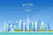 Dubai Illustration